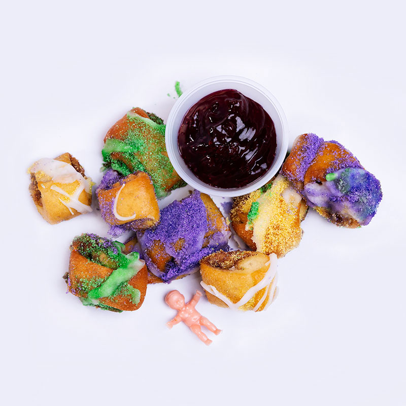 Sugar Love Bakery King Cake Nuggets