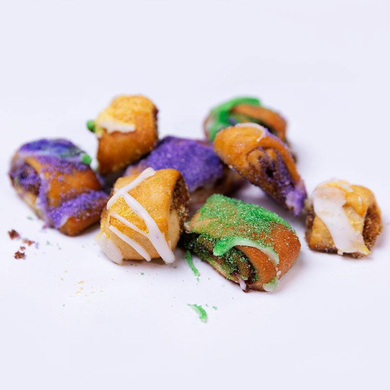 Sugar Love Bakery King Cake Nuggets