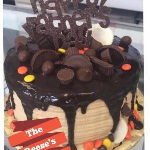 Reese's Cake by Sugar Love Bakery