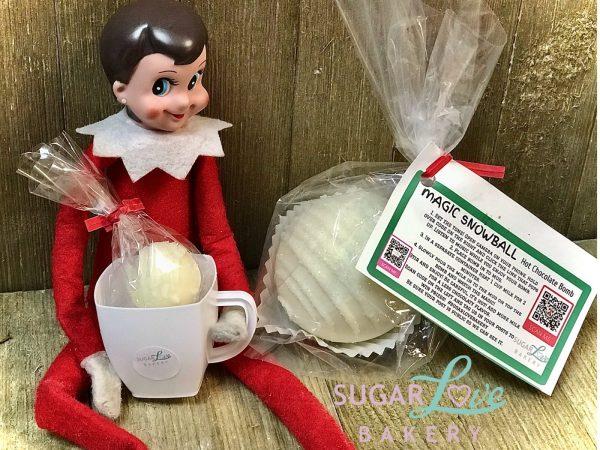 Magic Snowball Hot Chocolate Bomb