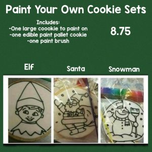 Paint Your Own Sugar Cookie Kit