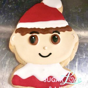 Elf on the Shelf Cookie