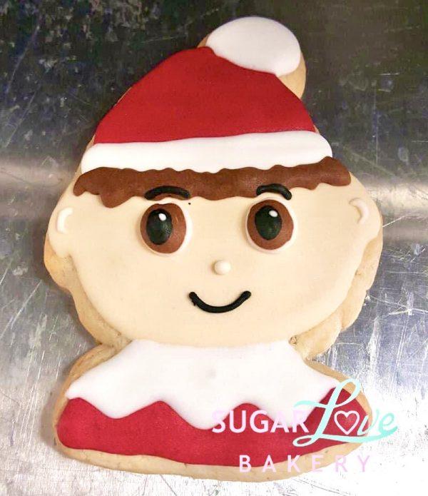Elf on the Shelf Cookie