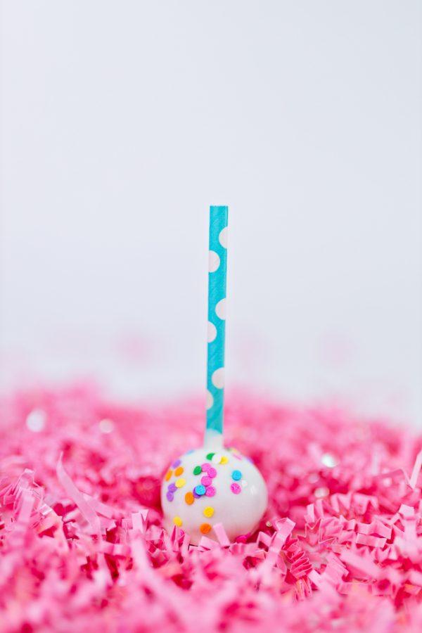Sprinkled Cake pop