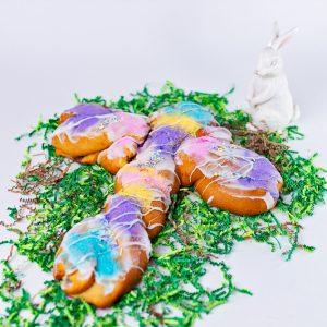 Easter Cross King Cake
