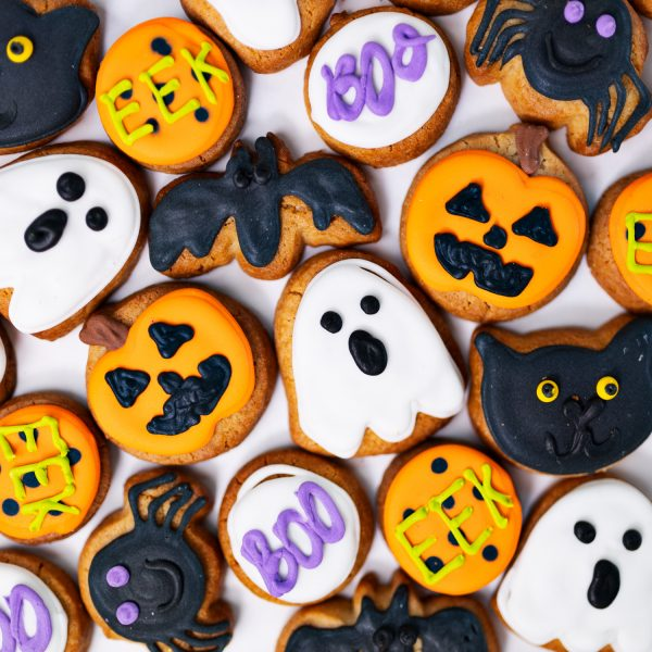 Mini Halloween Cookie Box