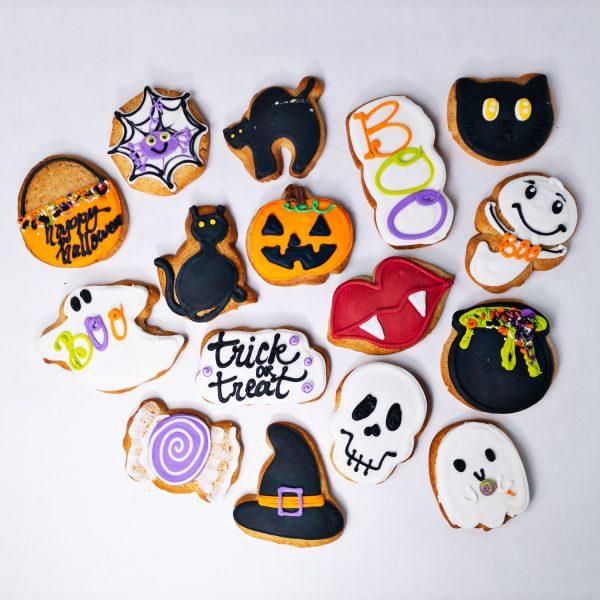 Variety Halloween Sugar Cookies