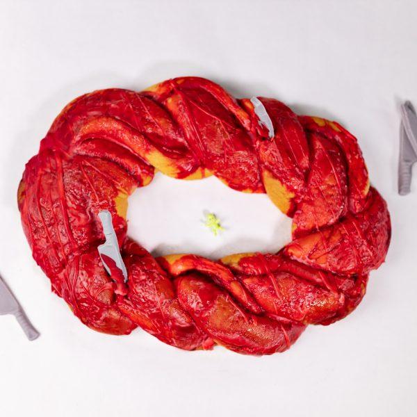Gory Bloody King Cake