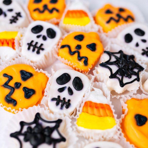 Halloween Petit Fours